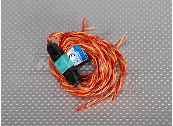 set di collegamento Filo PowerBox fusoliera / ala di 2 Servi .25 fili 40/120 centimetri