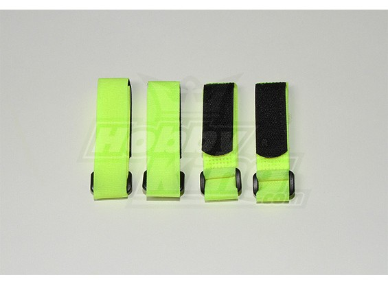 Batteria Strap 300X20mm (Giallo Lime) (4pcs / bag)