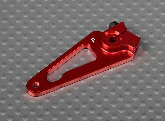 Heavy Duty CNC 1.5in alluminio Servo Arm - Futaba (Red)