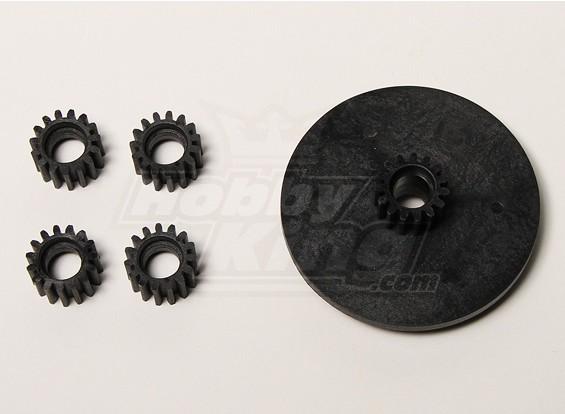QRF400 planetario Gear Set