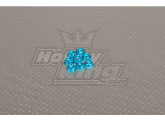 CNC Cap Bullone Rondella M3 (3,5 mm) Blue Sky
