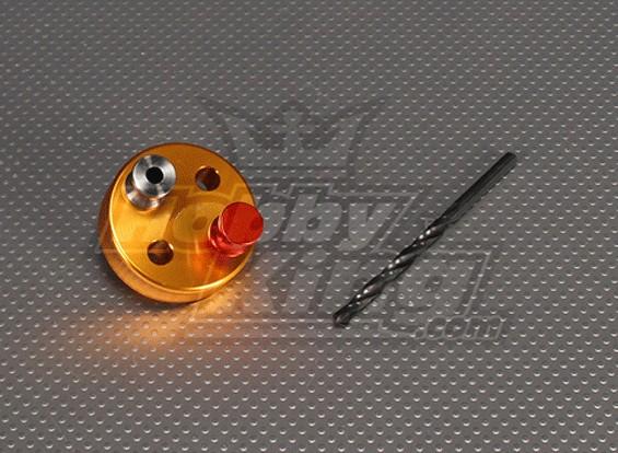 CNC maschera di foratura Set 4S (Drill 5,1 millimetri) Oro