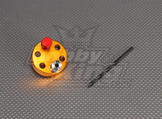 CNC maschera di foratura Set 6L (Drill 5,1 millimetri) Oro