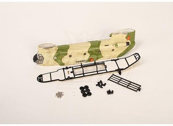 Walkera YS8001 Fuselage Set (verde)