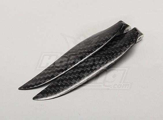 Folding 9.5x5 fibra di carbonio ad elica (1pc)