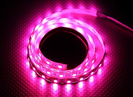 RGB LED striscia flessibile con 4-pin 1m driver connettore (rosso / verde / blu)