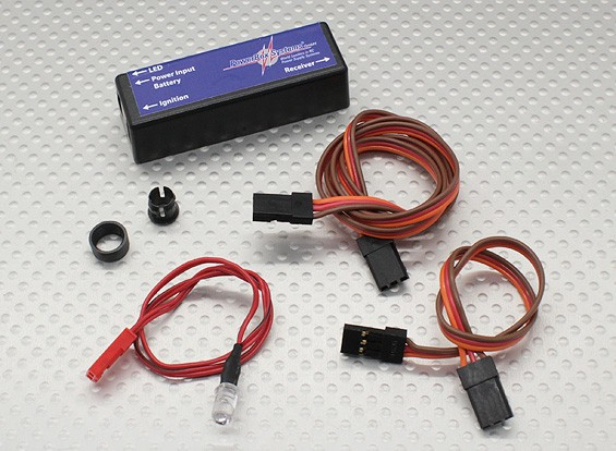 PowerBox SparkSwitch - Kill-Switch e Regolatore Unità