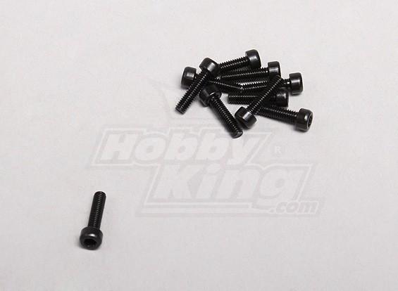 2.5x10mm Sockethead Vite (10pcs / pack)