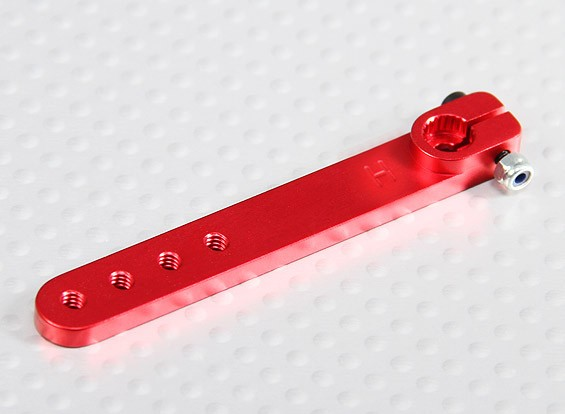 Heavy Duty Lega 2in Servo Arm - Hitec (Red)