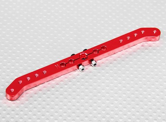 Heavy Duty 4.6in lega Pull-Pull Servo Arm - Hitec (Red)
