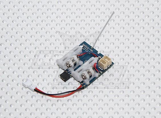 Sistemi SuperMicro 2.4GHz - Ricevitore, ESC e 2 x servi lineari All-in-one (5CH)
