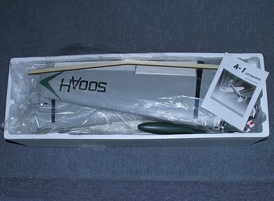 SCRATCH / DENT A-1 Skyraider 1.600 millimetri w / Retracts, flaps e freni ad aria compressa (PNF)