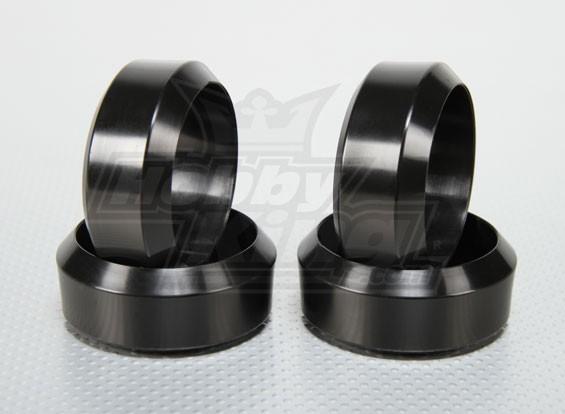 Scala 1:10 rigido Plasitc Drift Tire Set RC Auto 26 millimetri (4pcs / set)