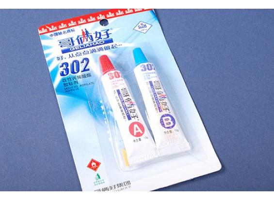 2 Parte adesivo acrilico V-Strong
