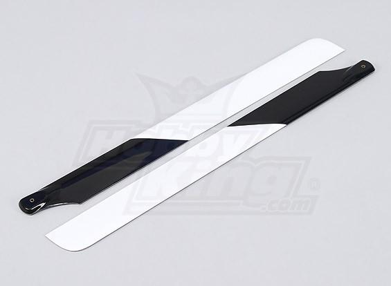 430 millimetri di carbonio / fibra di vetro Composite Blades principale