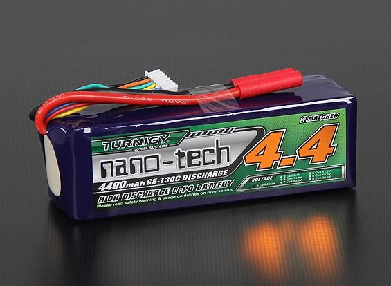 Turnigy nano-tech 4400mah 6S 65 ~ 130C Lipo Confezione