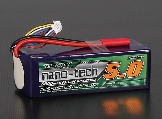 Turnigy nano-tech 5000mah 7S 65 ~ 130C Lipo Confezione