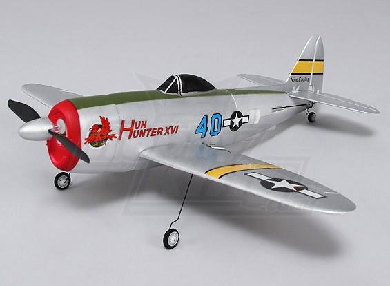 P-47 Ultra Micro 4CH 400 millimetri (RTF) (Modalità 1)