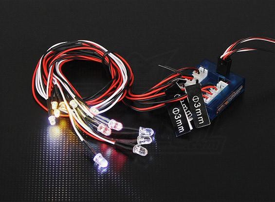 Light System Dipartimento Funzione Scala dell'automobile LED