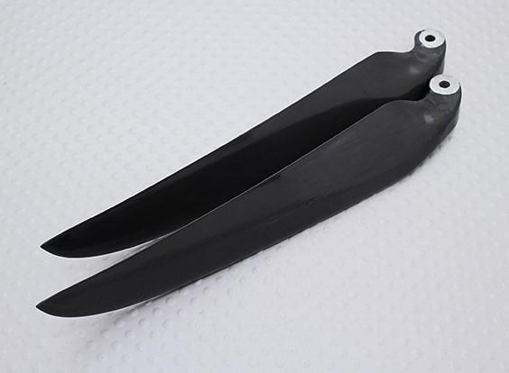 Pieghevole carbonio Infuso Elica 11x6 nero (CCW) (1pc)