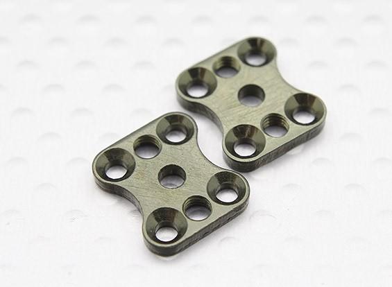 Alluminio Swaybar Backplate (2Pcs / Bag) - A2003T, 110BS, A2010, A2027, A2029, A2035 e A3007