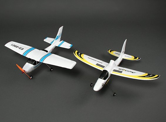 HobbyKing® ™ Micro Luce aereo classico e Cyclone Glider Combo (PNF)