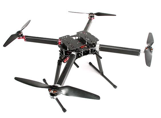 DYS D800 X4 Professional Multi-rotore pacchetto per la fotografia aerea e Heavy Lift (PNF)