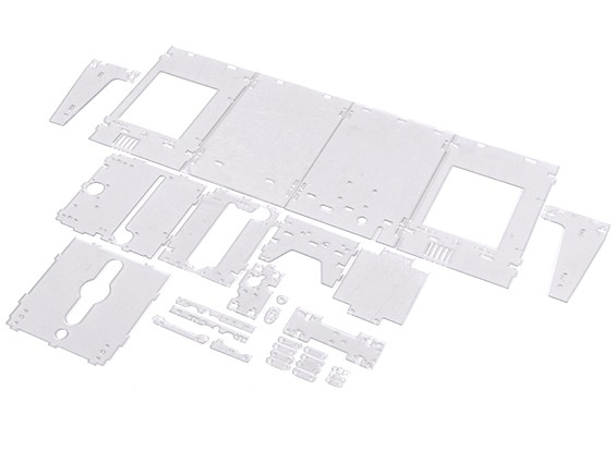 Turnigy Mini Fabrikator stampante 3D v1.0 Ricambi - Custodia trasparente