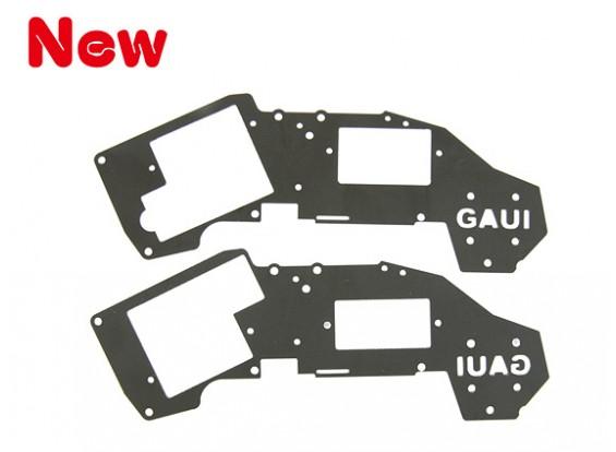 Gaui H200V2 nero superiore Frame Set per 6g ~ 9g Servo (203447)