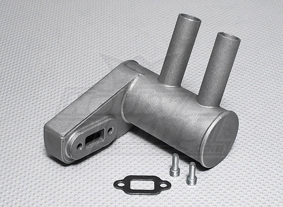 Pitts Silenziatore per motore a gas 26cc