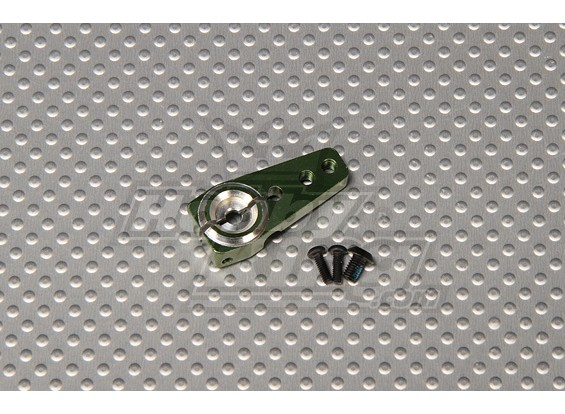 CNC regolabile in alluminio servo braccio 31x14.15x6mm (2-M3)