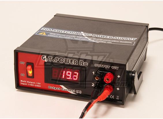 20A doppia 12v di commutazione Alimentazione DC per caricabatterie