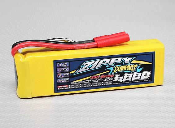 ZIPPY Compact 4000mAh 4S 25C Lipo Confezione