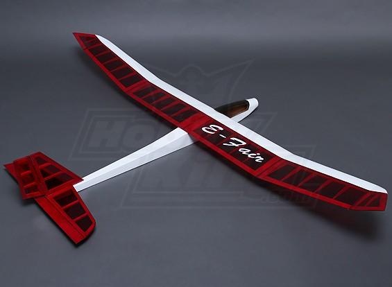 Dipartimento Funzione E-Fair Balsa Glider 1.540 millimetri (ARF)