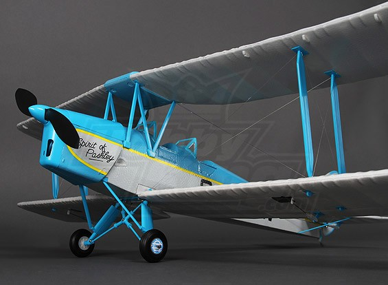 Tigermoth DH82A Spirit of Pashley 912 millimetri (P & P)