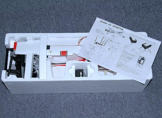 SCRATCH / DENT Micro 182 Light Aircraft 550 millimetri w / 2.4ghz TX (modalità 1) caricatore / Lipoly (RTF)