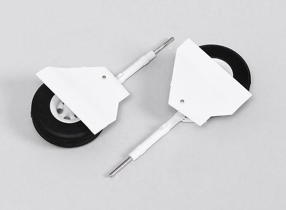 Durafly ™ T-28 1.100 millimetri (1pair) carrello principale Set