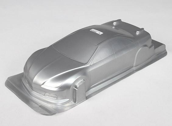 1/10 CR-6R Shell Corpo w / Stickers (argento)