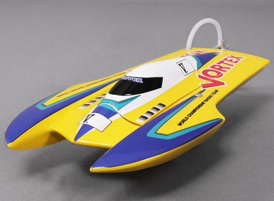 Vortex Hydro barca di corsa (475 millimetri) Plug and Drive - Giallo