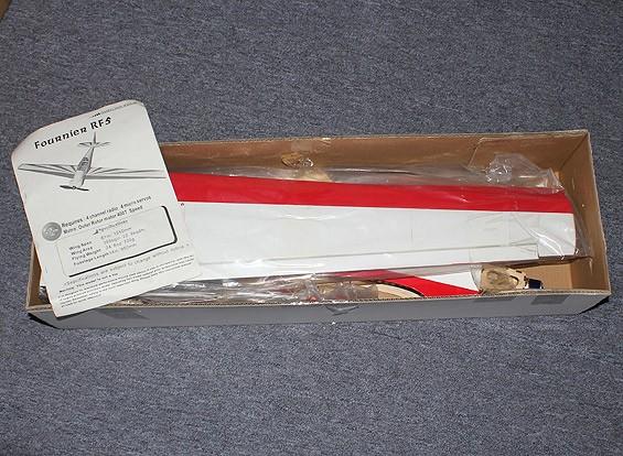 SCRATCH / DENT Fournier RF-5 Balsa Plug n Fly Scala Glider 1.550 millimetri