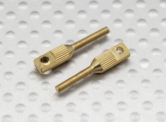 Pull-pull / 2 millimetri Clevise Quick Link accoppiatori