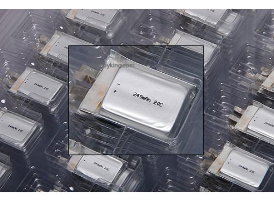 Cellulare ZIPPY 240mAh 20C singolo