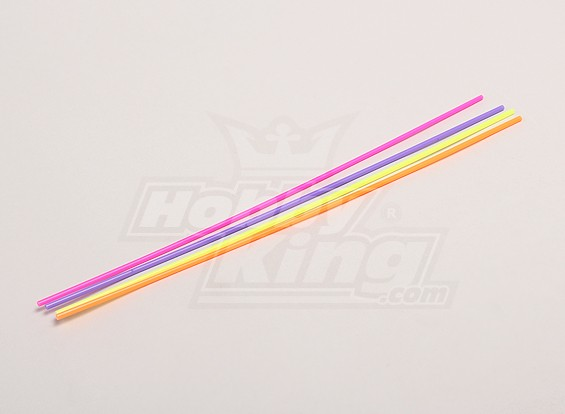 Antenna Pipe (30cm) - 1/18 4WD RTR on-Strada Drift / Short Course / Corsa Buggy (4 pezzi)
