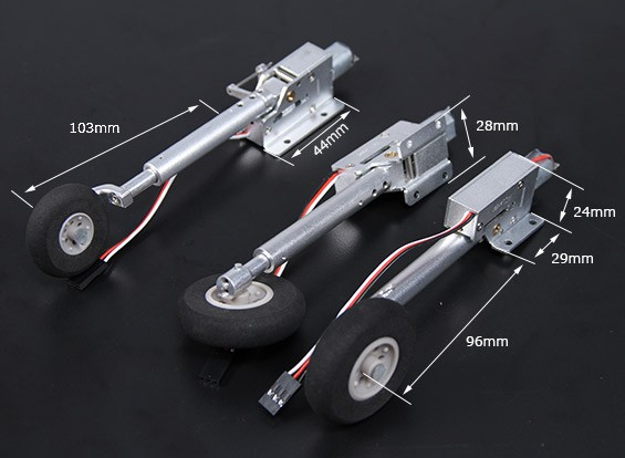 Turnigy MCR-F Sistema Ritrarre