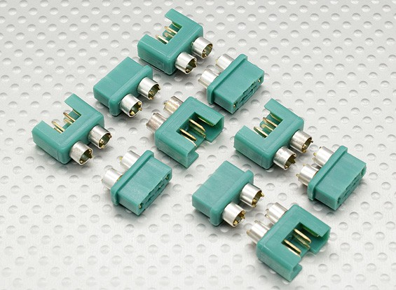 MPX Connettore con anello d'argento a colori, maschio e femmina (5pairs)
