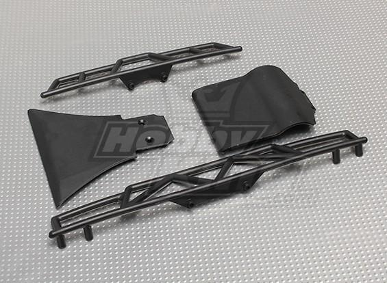 Anteriore e posteriore paraurti (1set) - A2031