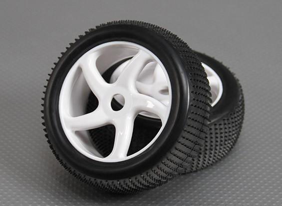 1/8 Buggy ruota / pneumatico 17 millimetri Hex (2pcs / bag)