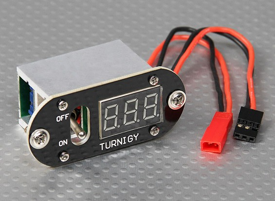 Turnigy 3 Funzione 5 Amp UBEC visualizzazione tensione Interruttore