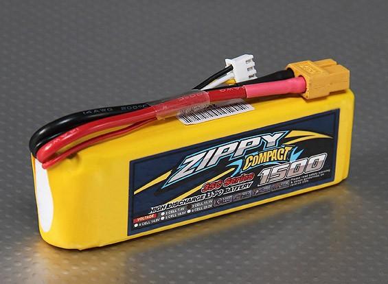 ZIPPY Compact 1500mAh 3S 35C Lipo Confezione