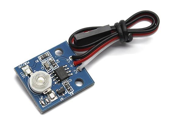 LED PCB Strobe verde 3.3 ~ 5.5V